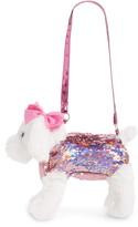 Capelli New York Flip Sequin Plush Dog Handbag