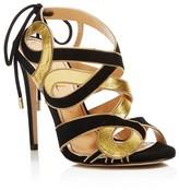 Jerome C. Rousseau Cinoche Ribbon High Heel Sandals