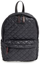 M Z Wallace 'Small Metro' Quilted Oxford Nylon Backpack - Black