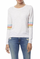 360 Sweater 360Sweater Rainbow Stripe Sweater