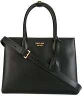 Prada red panel classic tote - women - Calf Leather - One Size