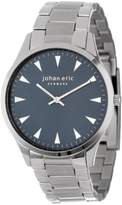 Johan Eric Men's JE9000-04-003B Helsingor Stainless Steel Blue Dial Bracelet Watch