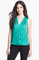 Kenneth Cole New York 'Hester' Ruffle Blouse (Petite)