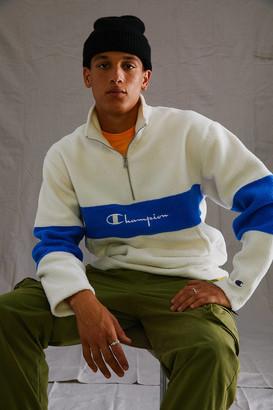Champion Sherpa Quarter-Zip Sweatshirt