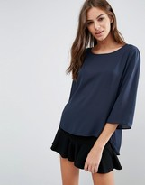 Vero Moda 3/4 Slit Side Top