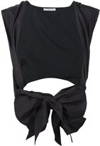Tome poplin tie waistcoat - women - Silk - One Size