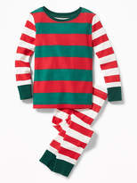 Old Navy Mixed-Stripe Sleep Set for Toddler & Baby