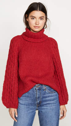 Eleven Paris Six Nina Alpaca Sweater
