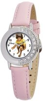 Disney Kids' D652S410 High School Musical Chad Pink Leather Strap Watch