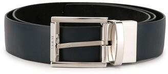 Tod's Rectangular Metal Buckle Belt
