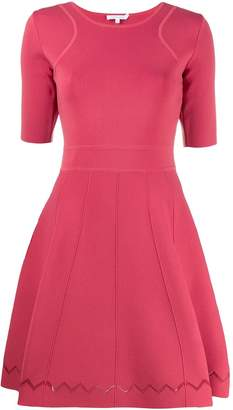 Patrizia Pepe flared shortsleeved dress