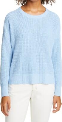 Eileen Fisher Waffle Knit Sweater