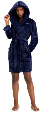 Jenni Hooded Short Cozy Robe, Created for Macy's