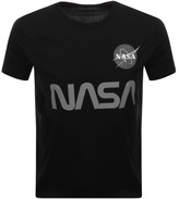 Alpha Industries Nasa T Shirt Black