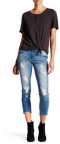 Just USA Low Rise Cropped Skinny Jean