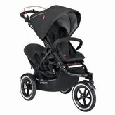 Phil & Teds SportTM Stroller with Double Kit in Black