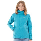 Berghaus Womens Alluvion 2 Layer Hydroshell Shell Jacket Turquoise/Turquoise
