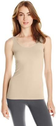 skinnytees Women's Basic Wide Strap Cami