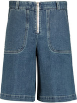 See by Chloe Flared denim shorts