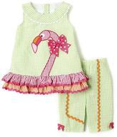 Bonnie Jean Girls Flamingo 2 Piece