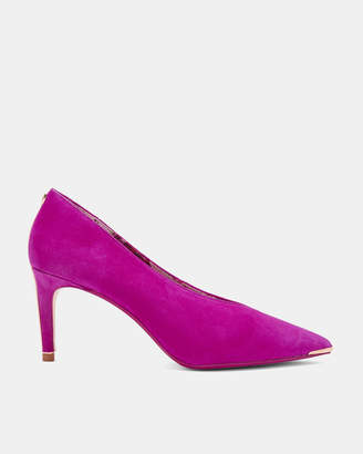 Ted Baker IONIXAS V-front suede courts