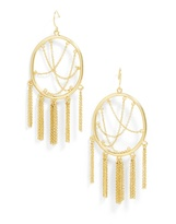 BaubleBar Allura Hoop Earrings