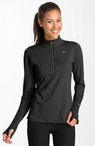 Nike Women's 'Element' Dri-Fit Half Zip Performance Top