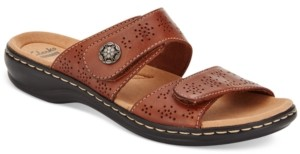 Clarks Collections Women's Leisa Lacole Flat Sandals Women's Shoes