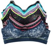 Youmita 6 Pack ASSORTED Color PACK B, C, D SPORTS BRA