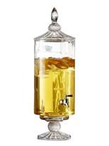 Jay Import Westchester Optic 2 Gallon Glass Beverage Dispenser