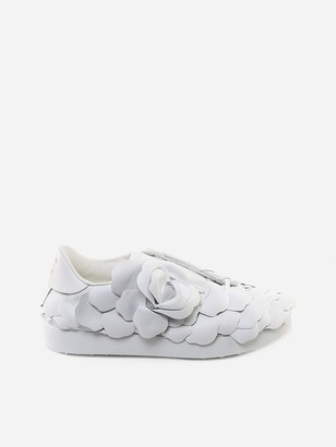 Valentino Atelier Shoes 03 Rose Edition Leather Sneakers