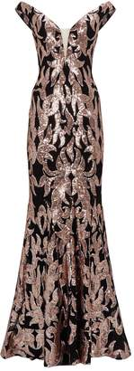 Jovani Sequin Baroque Gown