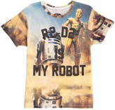 Little Eleven Paris Famnerd R2D2 Is My Robot Oversize T-Shirt