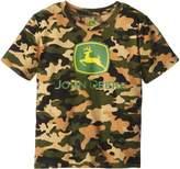 John Deere Little Boys' Front Chest Logo Short Sleeve Tee