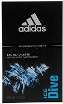 adidas Ice Dive 3.4 oz Eau De Toilette Spray