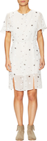 Lucca Couture Women's Star Printed Flutter Sleeve Shift Dress