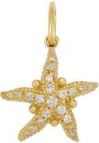 Temple St. Clair 18K Gold Pave Diamond Sea Star Pendant