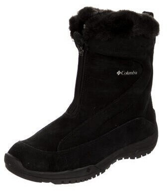 Thumbnail for your product : Columbia Suede Snow Boots Black