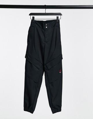 Jordan utility trousers in black
