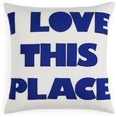 "Alexandra Ferguson Indoor Outdoor I Love This Place Decorative Pillow, 16"" x 16"" - 100% Bloomingdale's Exclusive"