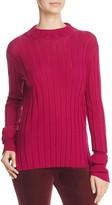 Theory Rib Mock-Neck Sweater