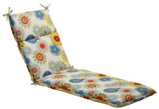 Floral Indoor/Outdoor Chaise Lounge Cushion Pillow Perfect