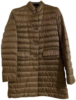 Aspesi Khaki Coat for Women