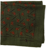 Ralph Lauren Equestrian Wool Pocket Square