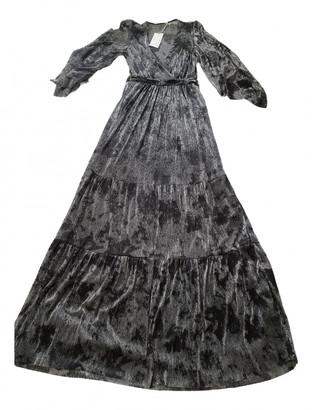 BA&SH Spring Summer 2020 Silver Silk Dresses