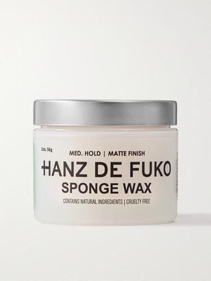 Hanz De Fuko Sponge Wax, 56g