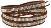 Chan Luu 32 Seed Bead Palladium Plaed/Naural Brown Bracele Bracele