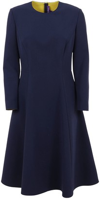 Ralph Lauren Black Label Long Sleeve-day Dress