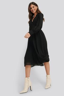NA-KD Sheer Midi Dress