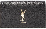 Saint Laurent Monogram Glitter Kate Clutch